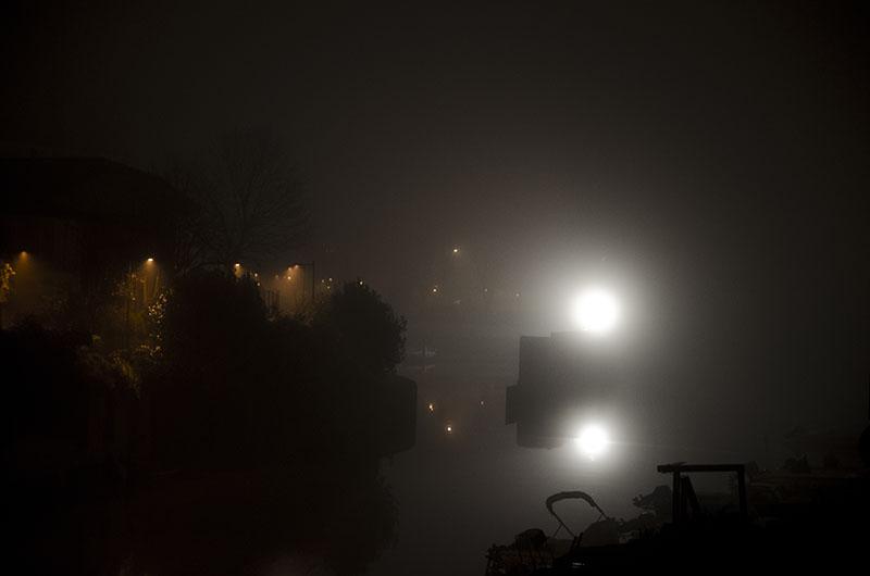 Giancarlo Tonti - Nebbia nella darsena