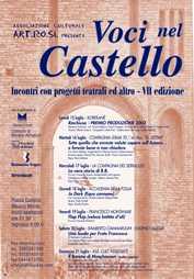 Giancarlo Tonti - Voci nel castello 2002
