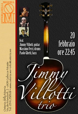 Giancarlo Tonti - Jimmy Villotti trio