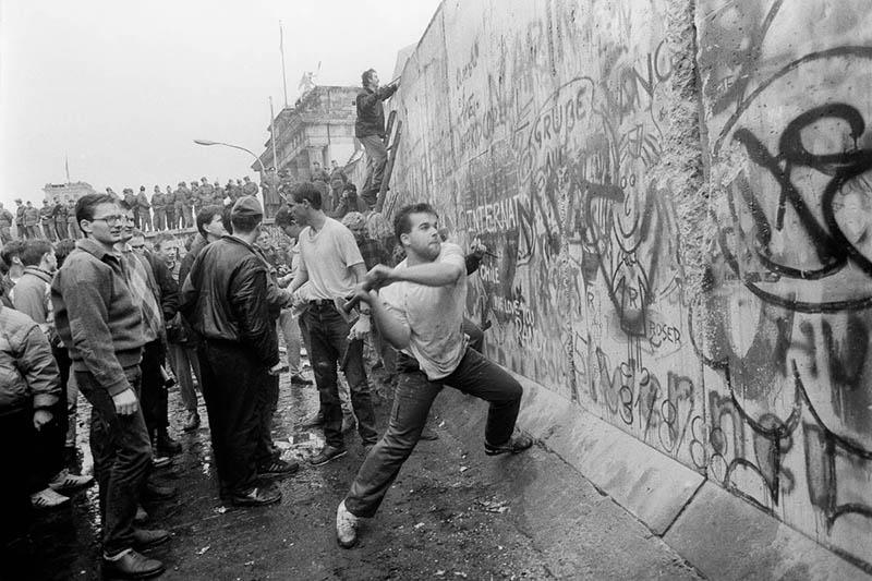 Il muro di Berlino 9 novembre 1989