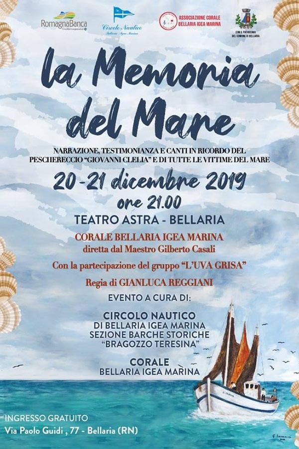 La memoria del mare - 20/12/2019